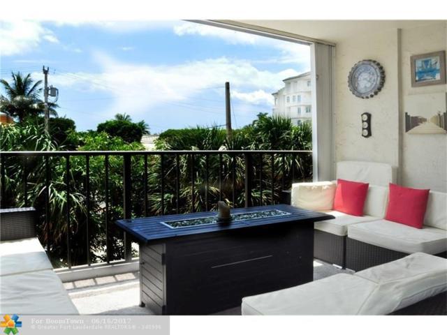 1905 N Ocean Blvd 2B, Fort Lauderdale, FL 33305 (MLS #F10072307) :: Green Realty Properties