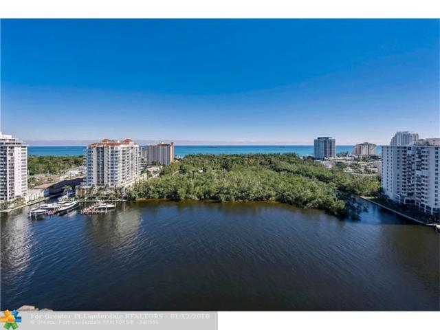 920 Intracoastal Dr #1601, Fort Lauderdale, FL 33304 (MLS #F10086736) :: Green Realty Properties