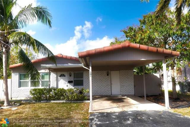 301 NE 30 COURT, Pompano Beach, FL 33064 (MLS #F10090465) :: Green Realty Properties