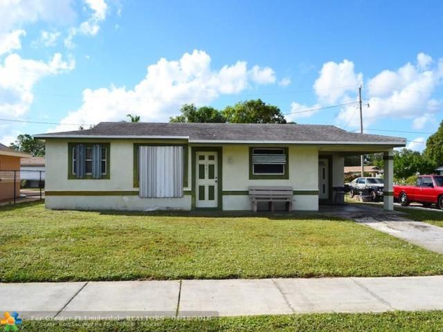 1441 NW 33rd Ter, Lauderhill, FL 33311 (MLS #F10095250) :: Green Realty Properties
