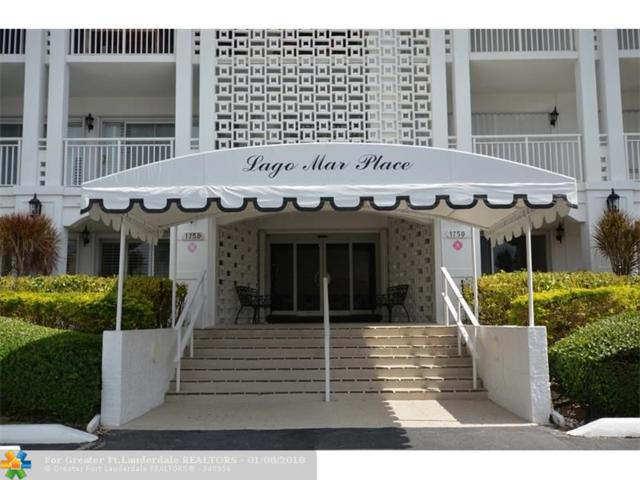1750 S Ocean Ln #221, Fort Lauderdale, FL 33316 (MLS #F10095273) :: Green Realty Properties
