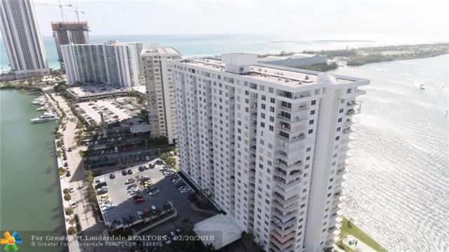 500 Bayview Dr #1921, Sunny Isles Beach, FL 33160 (MLS #F10105642) :: Green Realty Properties