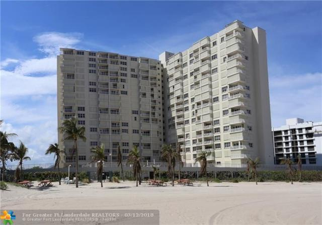 750 N Ocean Blvd #1007, Pompano Beach, FL 33062 (MLS #F10108261) :: Green Realty Properties