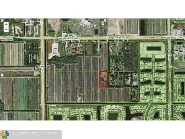 9588 102nd Pl, Boynton Beach, FL 33473 (MLS #F10109285) :: Green Realty Properties