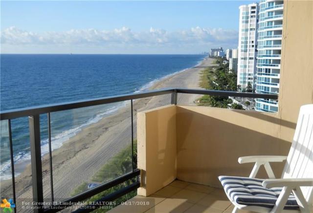 1500 S Ocean Blvd #1205, Lauderdale By The Sea, FL 33062 (MLS #F10110609) :: Green Realty Properties