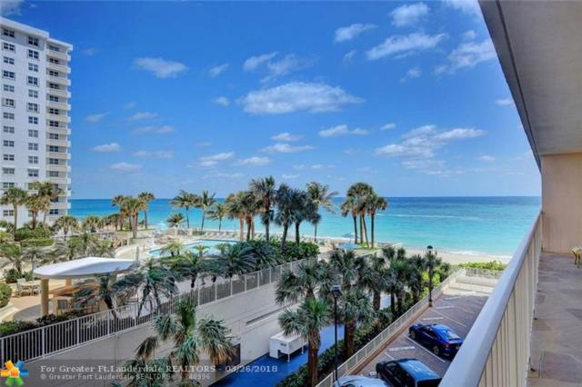 4100 E Galt Ocean Dr #309, Fort Lauderdale, FL 33308 (MLS #F10113158) :: Green Realty Properties