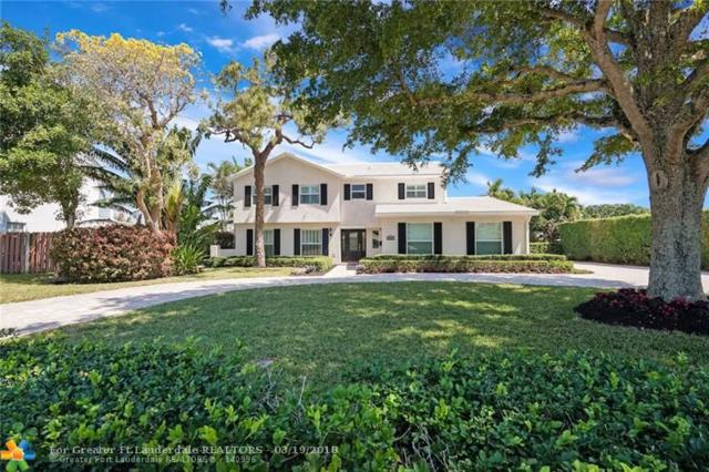 4520 NE 25th Ave, Fort Lauderdale, FL 33308 (MLS #F10113580) :: The O'Flaherty Team