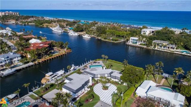 4240 NE 31st Ave, Lighthouse Point, FL 33064 (MLS #F10114184) :: Green Realty Properties