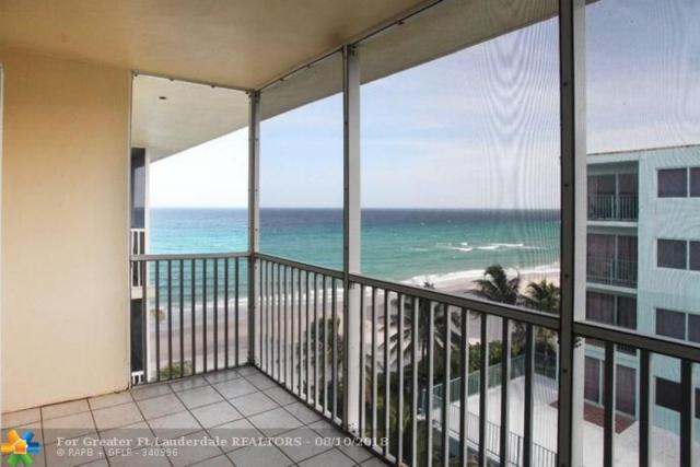 1161 N Hillsboro Mile #607, Hillsboro Beach, FL 33062 (MLS #F10119148) :: Laurie Finkelstein Reader Team