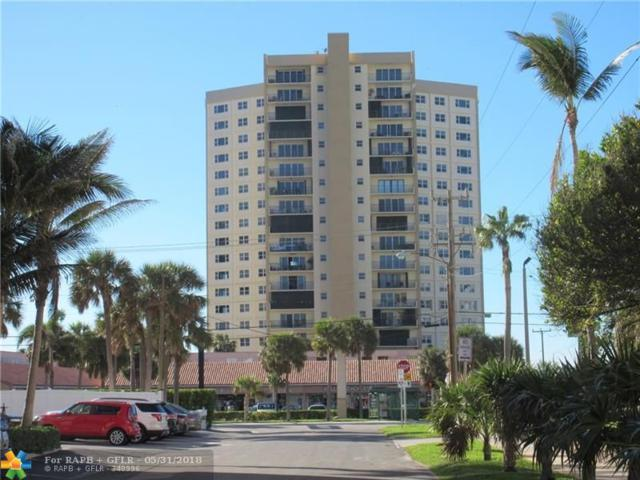 1200 Hibiscus Ave #801, Pompano Beach, FL 33062 (MLS #F10119645) :: Green Realty Properties
