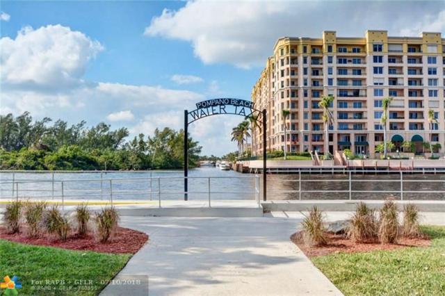 1110 N Riverside Dr #21, Pompano Beach, FL 33062 (MLS #F10121017) :: Green Realty Properties