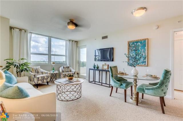 600 W Las Olas Blvd #609, Fort Lauderdale, FL 33312 (MLS #F10121026) :: Green Realty Properties