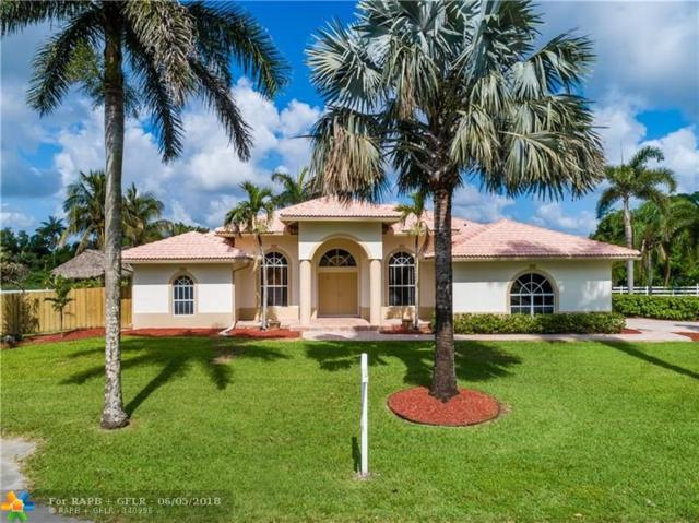 10970 SW 48th St, Cooper City, FL 33328 (MLS #F10123884) :: Green Realty Properties