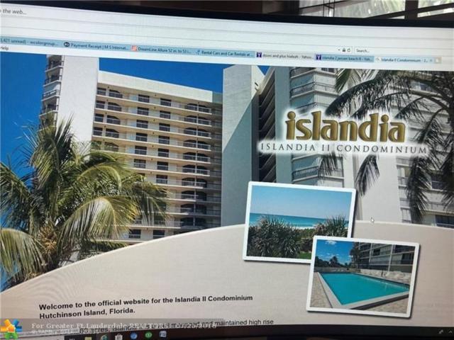 9500 S Ocean Drive #1707, Hutchinson Island, FL 34957 (MLS #F10123956) :: Green Realty Properties