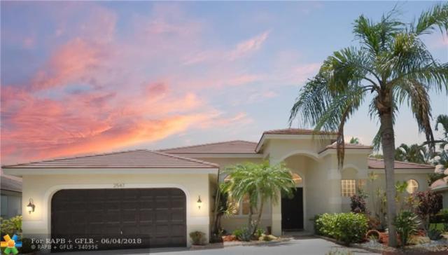 2547 Jardin Lane, Weston, FL 33327 (MLS #F10125072) :: Green Realty Properties