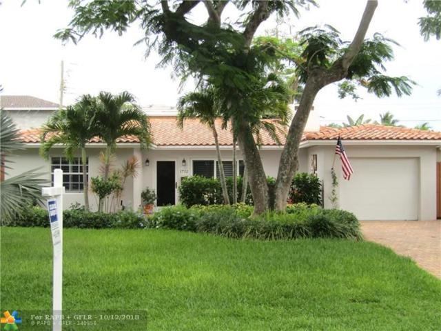 1712 NE 19th St, Fort Lauderdale, FL 33305 (MLS #F10125559) :: Green Realty Properties