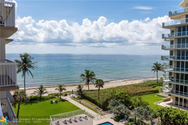 1069 Hillsboro Mile #604, Hillsboro Beach, FL 33062 (MLS #F10129329) :: Green Realty Properties