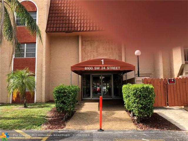 8100 SW 24th St #203, North Lauderdale, FL 33068 (MLS #F10131014) :: Green Realty Properties