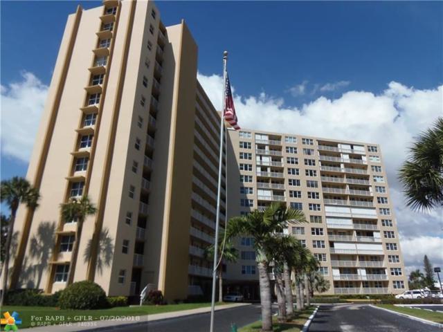 201 N Ocean Blvd #708, Pompano Beach, FL 33062 (MLS #F10131457) :: Green Realty Properties