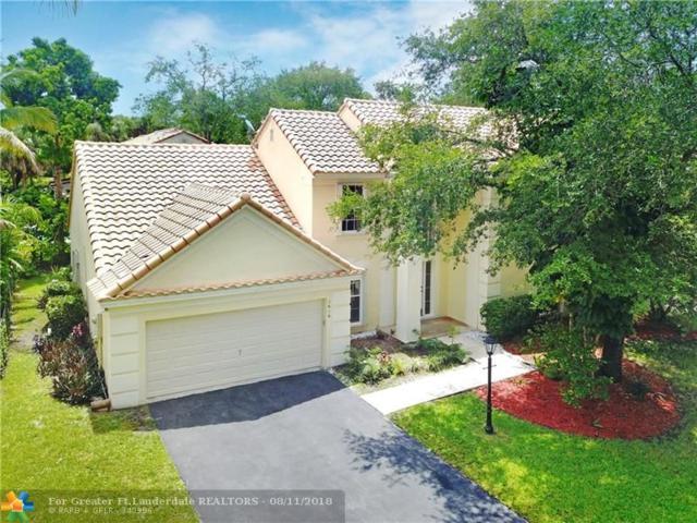 7616 Parkview Way, Coral Springs, FL 33065 (MLS #F10131569) :: Green Realty Properties