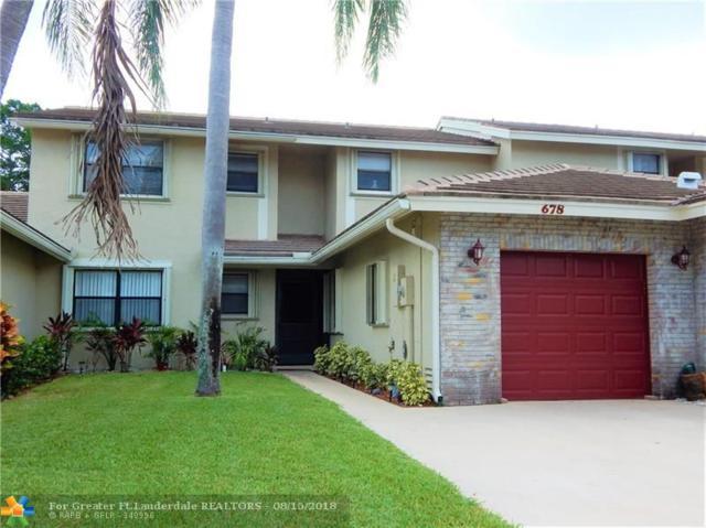 678 N Shore Dr #678, Deerfield Beach, FL 33442 (MLS #F10135805) :: Green Realty Properties