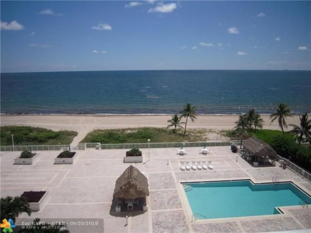 1390 S Ocean Blvd 6-E, Pompano Beach, FL 33062 (MLS #F10137542) :: Green Realty Properties
