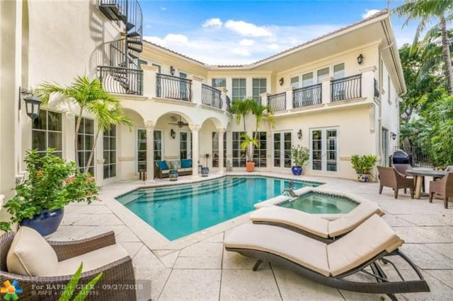 1300 E Lake Dr, Fort Lauderdale, FL 33316 (MLS #F10140214) :: The Howland Group