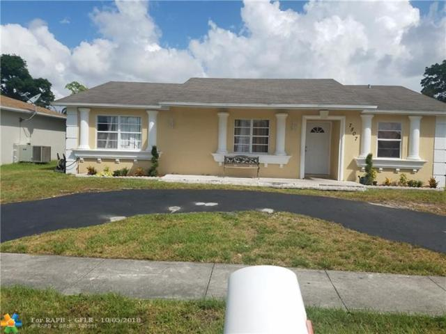 7807 SW 6th St, North Lauderdale, FL 33068 (MLS #F10140464) :: Green Realty Properties