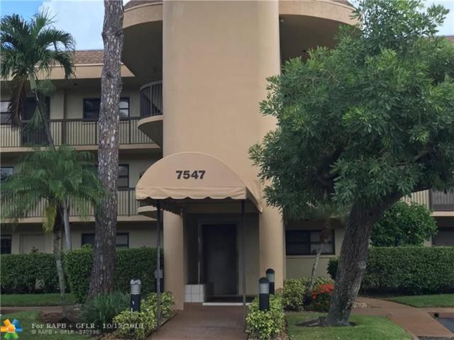7547 NW 79th Ave #312, Tamarac, FL 33321 (MLS #F10142148) :: Green Realty Properties