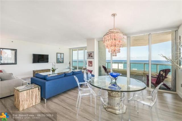 101 S Fort Lauderdale Beach Blvd #1101, Fort Lauderdale, FL 33316 (MLS #F10143331) :: Berkshire Hathaway HomeServices EWM Realty