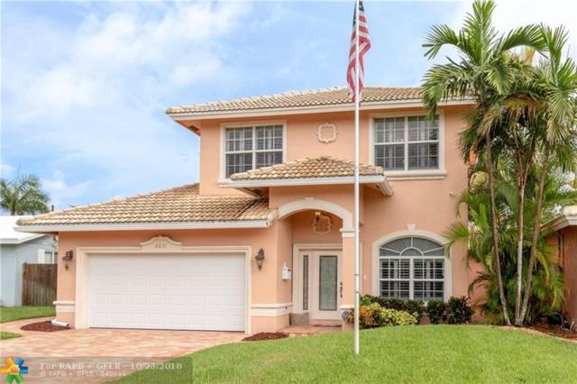 2831 NE 16th St, Pompano Beach, FL 33062 (MLS #F10143879) :: Green Realty Properties