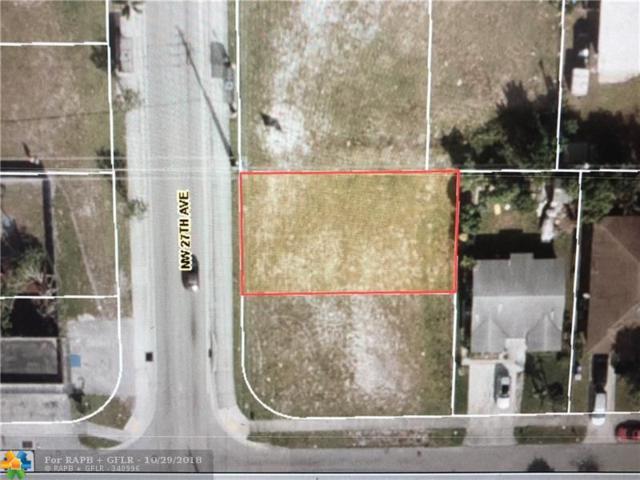 Nw 27 Ave, Pompano Beach, FL 33069 (MLS #F10144352) :: Green Realty Properties