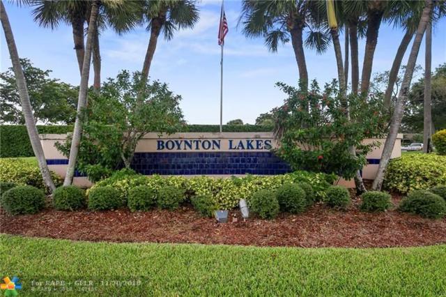 21 Chelsea Ln #21, Boynton Beach, FL 33426 (MLS #F10149604) :: Green Realty Properties