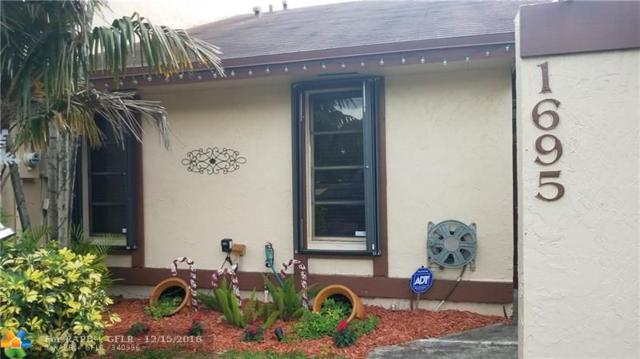 1695 NW 96th Ave #1695, Pembroke Pines, FL 33024 (MLS #F10151905) :: Green Realty Properties