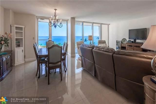 4300 N Ocean Blvd 5C, Fort Lauderdale, FL 33308 (MLS #F10151991) :: Berkshire Hathaway HomeServices EWM Realty