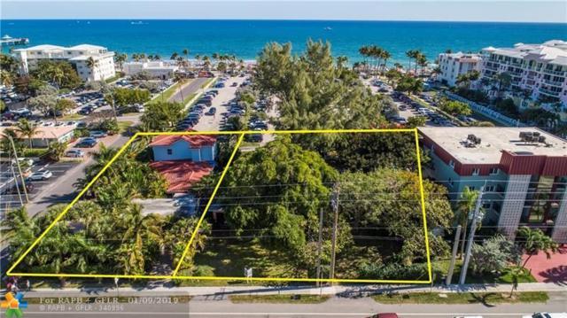 120 S Ocean Drive, Deerfield Beach, FL 33441 (MLS #F10154610) :: Green Realty Properties