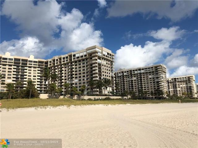 5100 N Ocean Blvd #704, Lauderdale By The Sea, FL 33308 (MLS #F10166145) :: The O'Flaherty Team