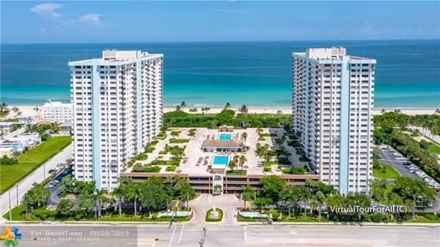 1201 S Ocean Dr 1212N, Hollywood, FL 33019 (MLS #F10168561) :: Patty Accorto Team