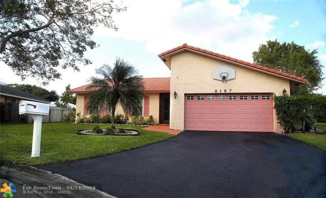 8107 NW 5th St, Coral Springs, FL 33071 (MLS #F10169104) :: Green Realty Properties