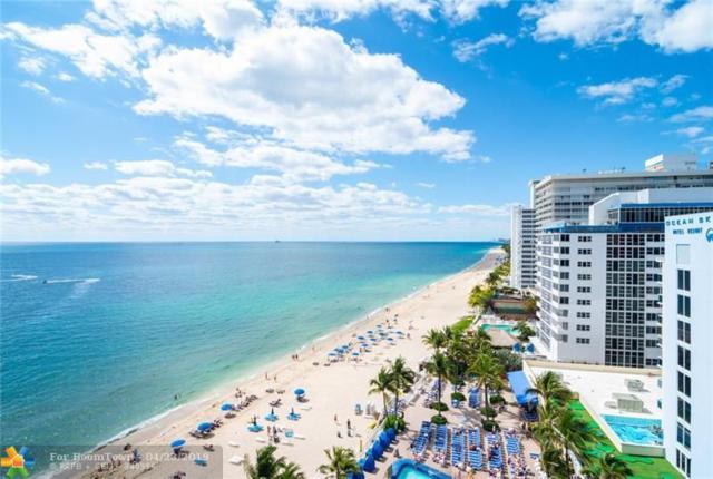 4100 Galt Ocean Dr #1012, Fort Lauderdale, FL 33308 (MLS #F10170728) :: Laurie Finkelstein Reader Team