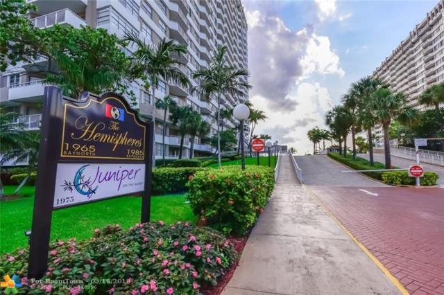 1965 S Ocean Drive 6G, Hallandale, FL 33009 (MLS #F10174481) :: Green Realty Properties
