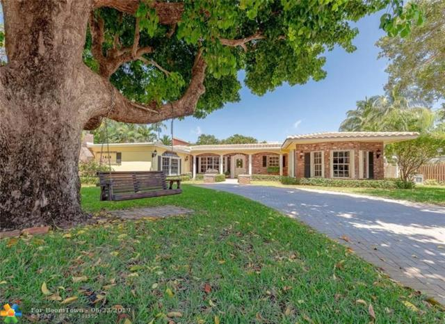 1414 Coral Ridge Drive, Fort Lauderdale, FL 33304 (MLS #F10179932) :: Berkshire Hathaway HomeServices EWM Realty