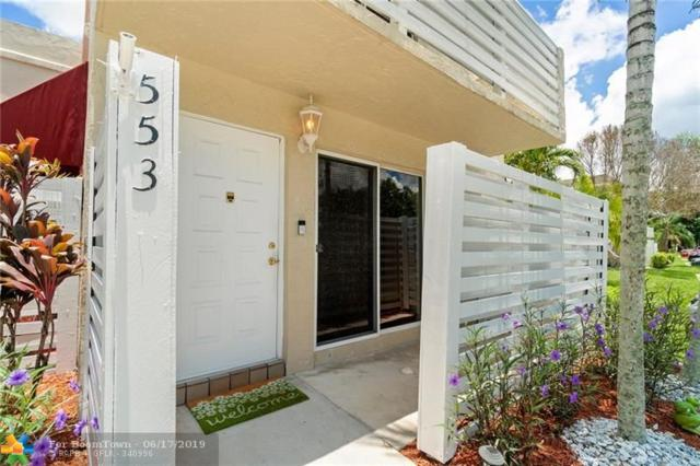 553 NW 98TH AV #553, Plantation, FL 33324 (MLS #F10180777) :: Green Realty Properties