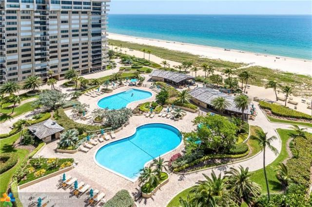 4900 N Ocean Blvd #1604, Lauderdale By The Sea, FL 33308 (MLS #F10182179) :: Castelli Real Estate Services