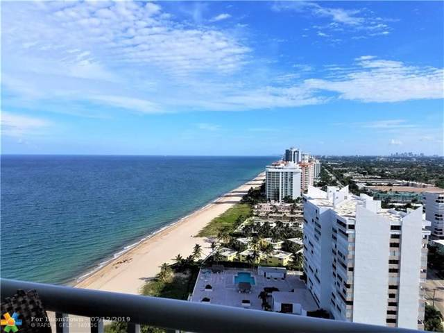 1370 S Ocean Blvd #2603, Pompano Beach, FL 33062 (MLS #F10184071) :: The O'Flaherty Team