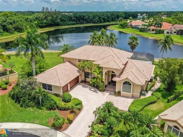 595 Coconut Cir, Weston, FL 33326 (MLS #F10185813) :: The Paiz Group