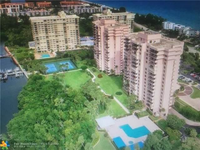 2003 N Ocean Blvd #1701, Boca Raton, FL 33431 (MLS #F10191109) :: Green Realty Properties