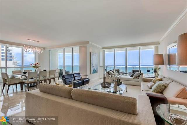 101 S Fort Lauderdale Beach Blvd #1705, Fort Lauderdale, FL 33316 (MLS #F10191445) :: The O'Flaherty Team