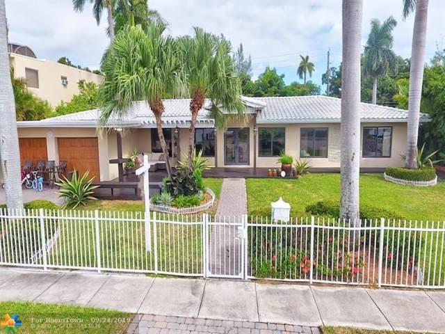 711 N Northlake Dr, Hollywood, FL 33019 (MLS #F10193469) :: Berkshire Hathaway HomeServices EWM Realty