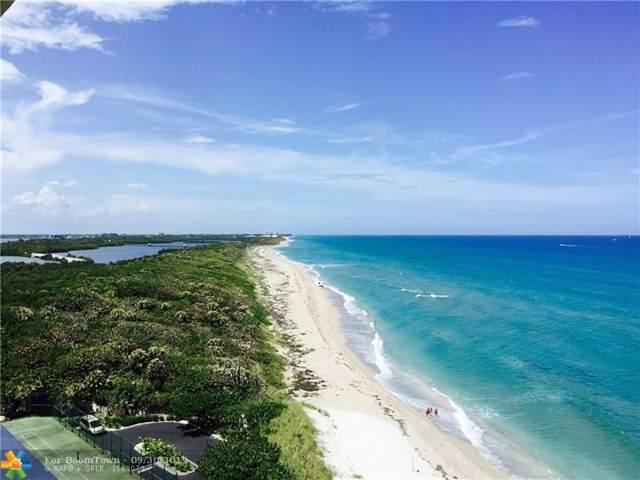 5550 N Ocean Dr 11-C, Riviera Beach, FL 33404 (#F10194150) :: Posh Properties